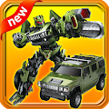 Slide Warrior Robot Car Game APK for Bluestacks