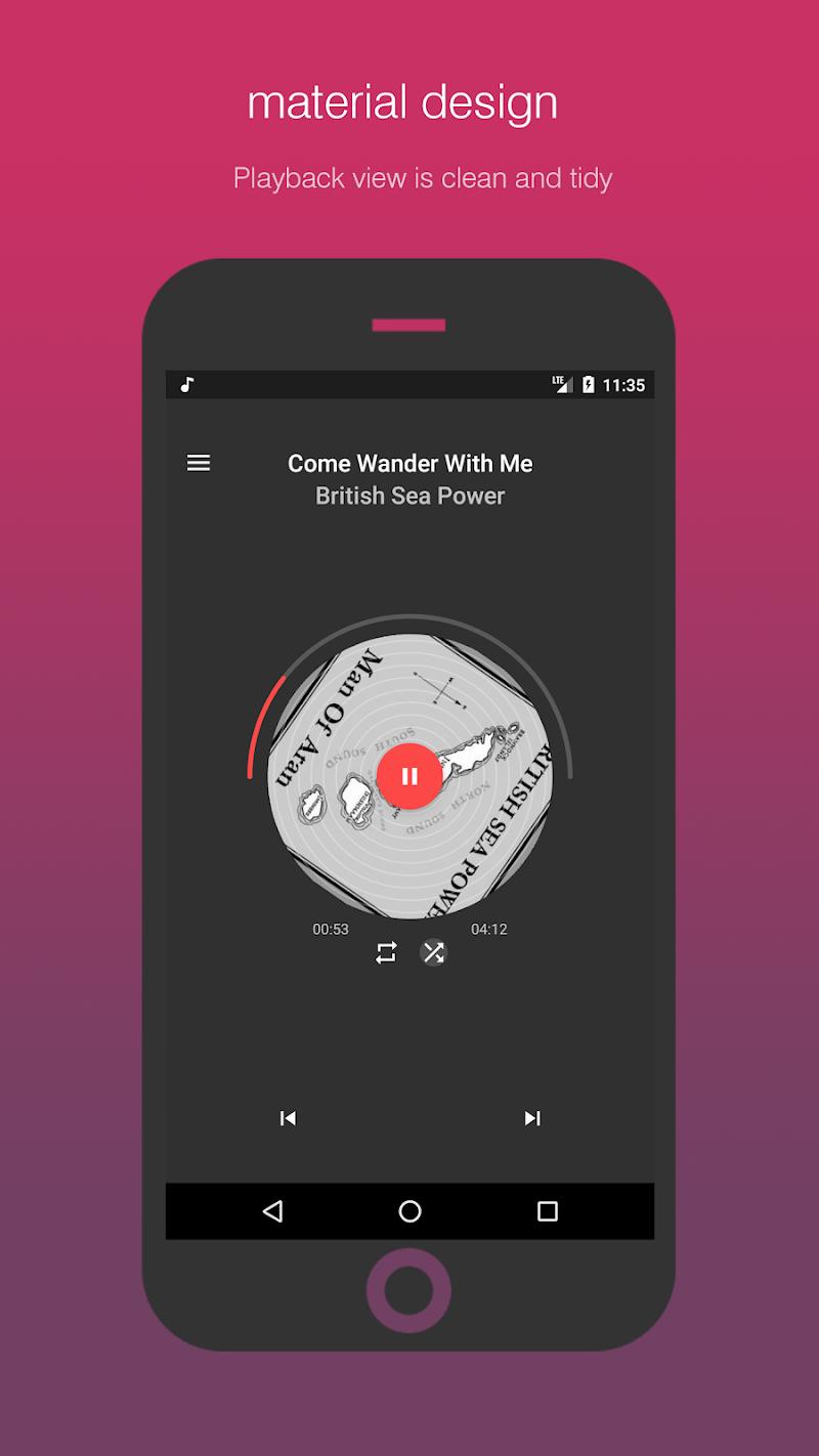 Smart Player Pro - Smartest music player Screenshot 1