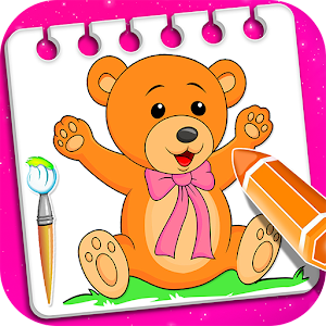 Little Teddy Bear Coloring Book Game For PC (Windows & MAC)