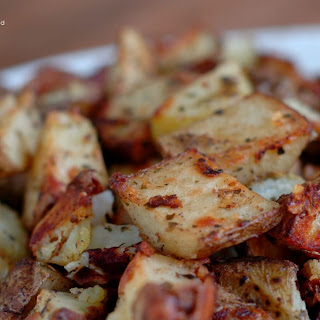 Parmesan Roasted Italian Potatoes