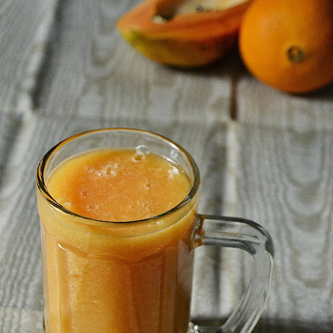 Papaya Orange Juice