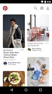 Pinterest for Lollipop - Android 5.0