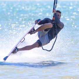 Tail Stand by Trevor Bond - Sports & Fitness Watersports ( kite boarding, nz, kiteboarding )