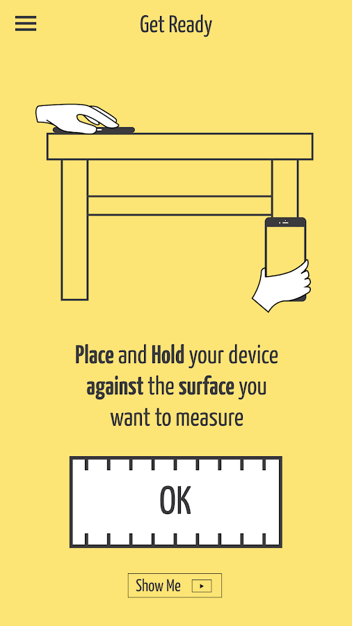 SizeUp – a Smart Tape Measure Screenshot 0