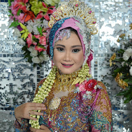 indahnya bersamamu by Z Photografy - Wedding Bride & Groom