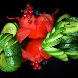 vegetables with fruits by LADOCKi Elvira - Food & Drink Fruits & Vegetables (  )