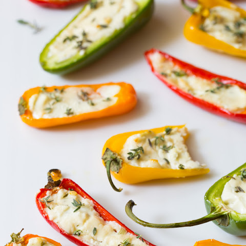 3-Ingredient Mini Stuffed Peppers