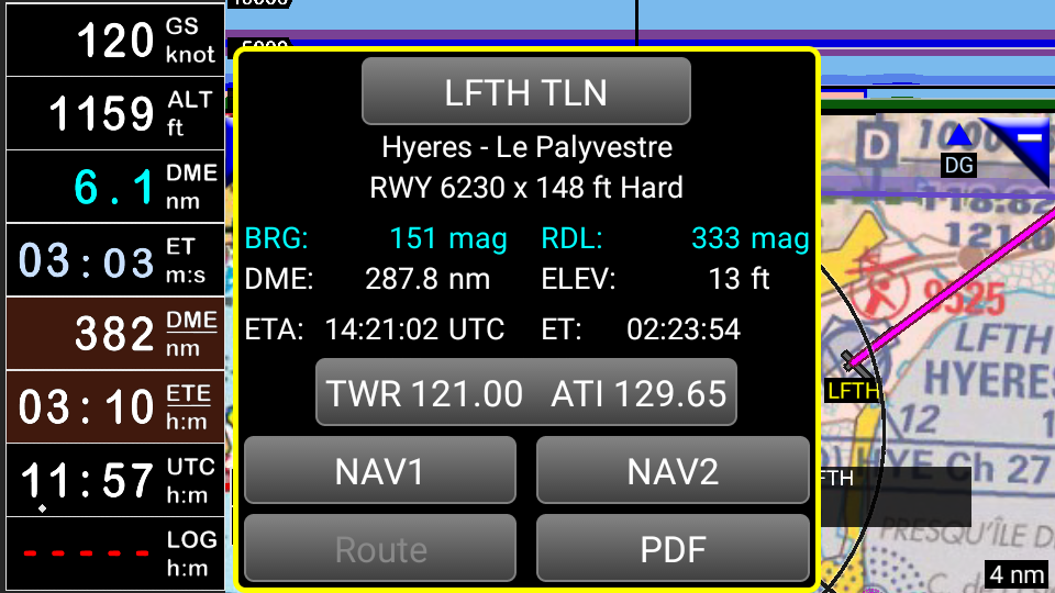 FLY is FUN Aviation Navigation Screenshot 3