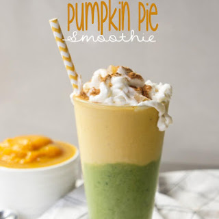 Green Pumpkin Pie Smoothie