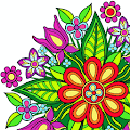 Download Flowers Mandala coloring book APK to PC