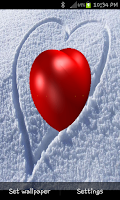 Screenshot of خلفية قلب حب متحرك