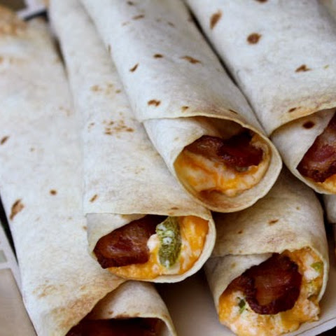{Bacon Lovers} Jalapeno Popper Taquitos