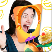 Cake on Face Antistress