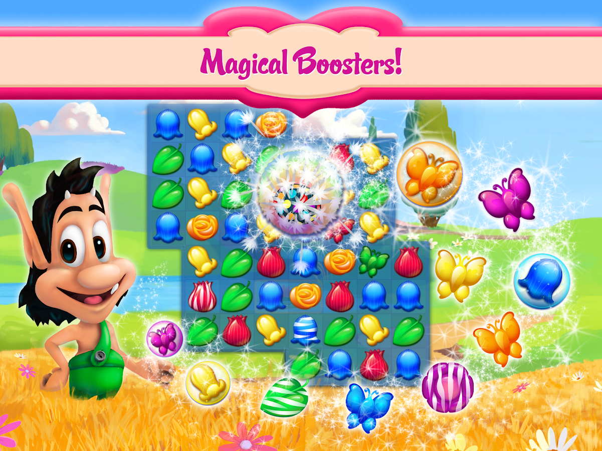 Hugo Flower Flush Screenshot 6