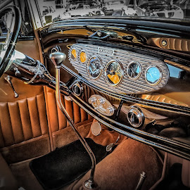 Ford Coupe Interior by Ron Meyers - Transportation Automobiles