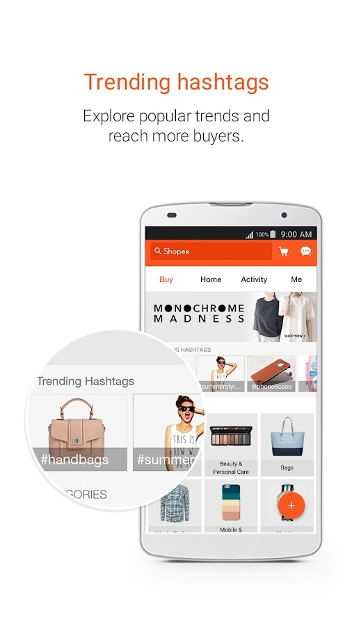 Shopee MY: Buy&Sell on Mobile Screenshot 1