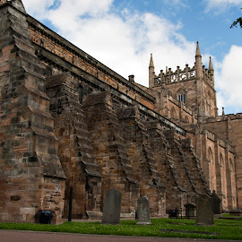 by Dwayne Mathers - Buildings & Architecture Public & Historical ( fife, religion, church, dunfermline, abbey )