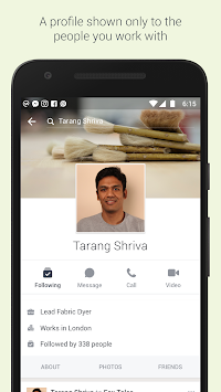 Workplace By Facebook APK screenshot thumbnail 3