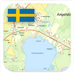 Sweden Topo Maps Icon