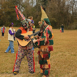 Mardigras in Loisiana by Ron Olivier - People Musicians & Entertainers ( mardigras in loisiana,  )