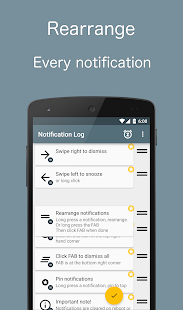 Notif Log notification history Screenshot