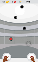 Screenshot of Percussion: rhythmic tap tap