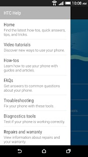 App HTC Help APK for Windows Phone