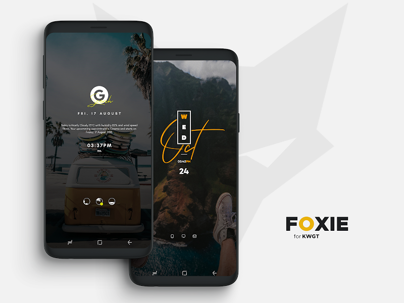 Foxie for KWGT Screenshot 8