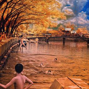 Karang Mumus River by Daniel Chang - Landscapes Travel