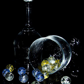 Goblets by Micoy Ausa - Artistic Objects Still Life