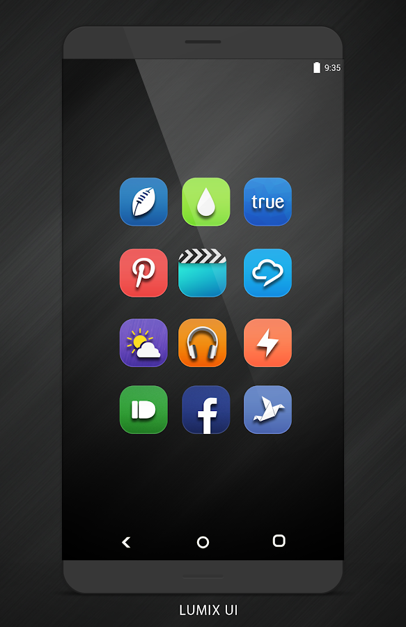Lumix UI - Icon Pack Screenshot 0