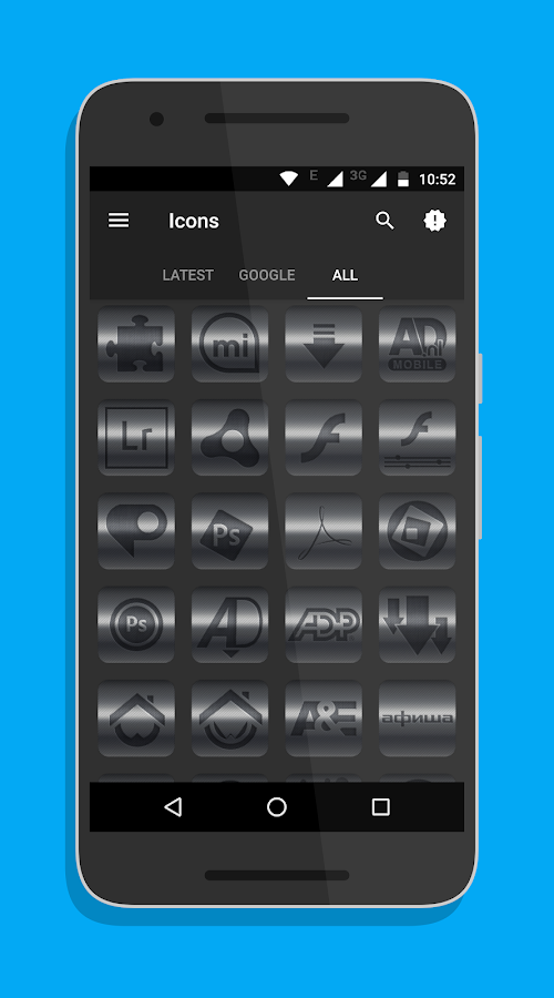 Kick Icon Pack Screenshot 3