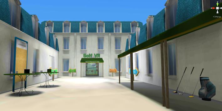 Golf VR apk screenshot