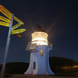 by J Petzer - Buildings & Architecture Other Exteriors ( cape reinga, new zealand )