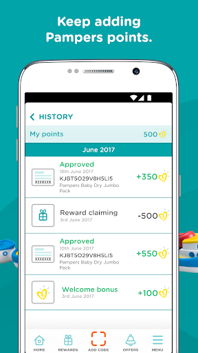 Pampers Rewards for Parents and Babies For PC