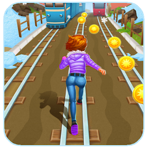 Download girl subway surfing for PC