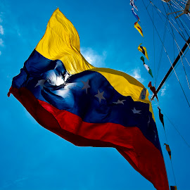 Colombian flag by Paula NoGuerra - Artistic Objects Other Objects ( flag, street, street photography,  )