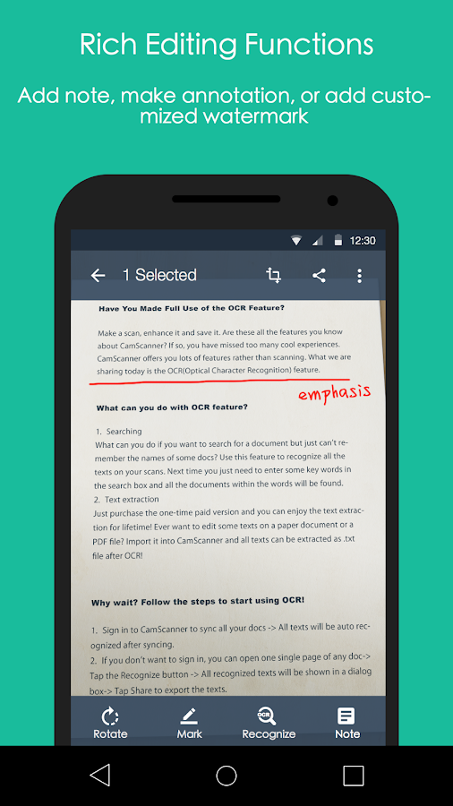 CamScanner -Phone PDF Creator Screenshot 5