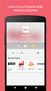 Radio Suomi - screenshot