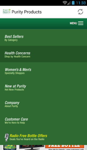 android Purity Cleansing  Products Screenshot 7