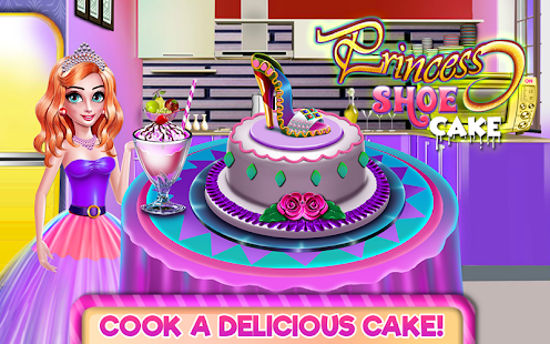 Princess Shoe Cake