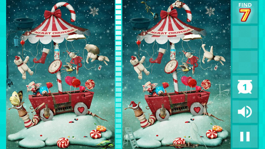 android Hidden Difference - Xmas Wish Screenshot 1