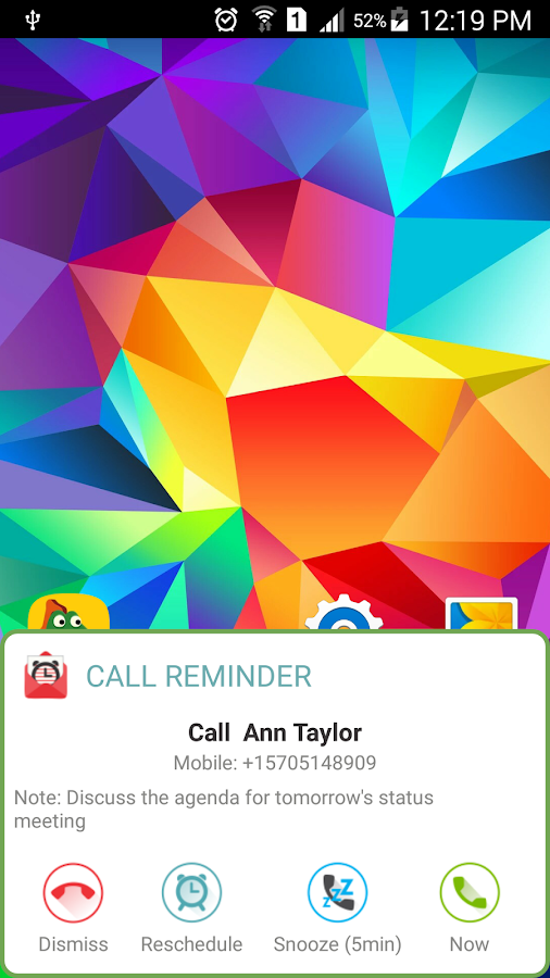 SMS-Call Scheduler Pro Screenshot 5