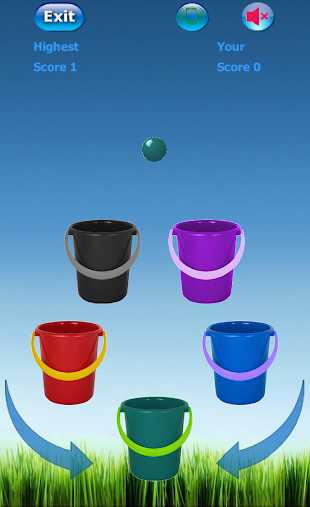 Bucket Roleta-Learn Colors Kid APK
