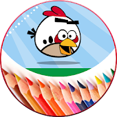 Coloring Book For Angry Birds APK for Bluestacks