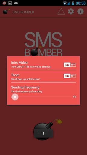 Sms Bomber Pro - screenshot
