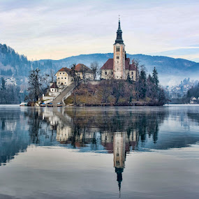 BLED - Slovenia by Stane Gortnar - City,  Street & Park  Historic Districts (  )