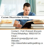 For Indore region we provide the custom dissertation writing services