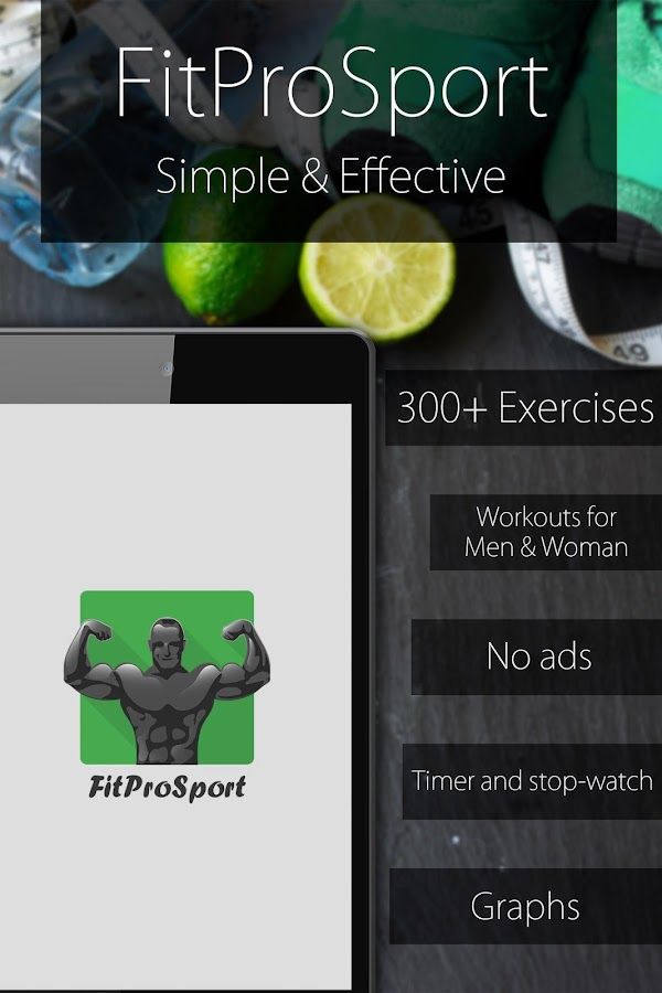 Fitness Coach FitProSport FULL Screenshot 0