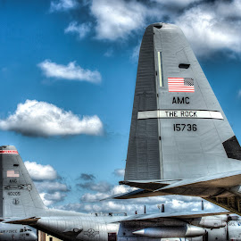Tails by Brian Box - Transportation Airplanes ( air force, airplanes, airplane, aircraft, c-130, airshow )